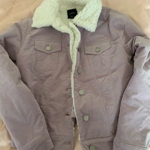 Light purple size small Forever 21 jacket.
